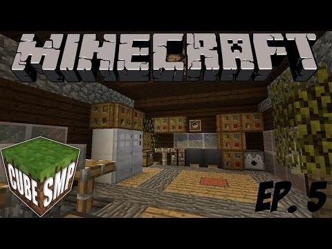 Minecraft Cube SMP: Finishing the House! - Episode 5