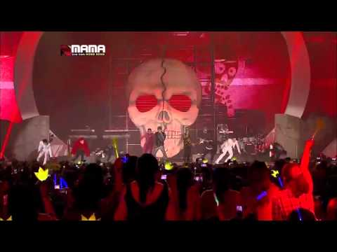 (bigbang) - (crayon) &  (fantastic Baby) : Mama 2012 video
