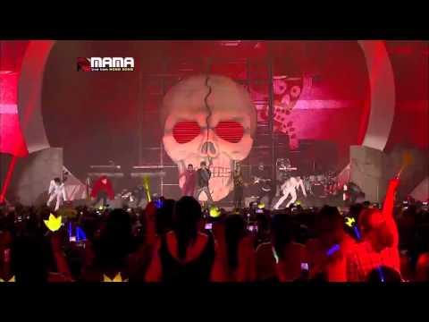 빅뱅(bigbang) - 크레용(crayon) & 판타스틱 베이비(fantastic Baby) : Mama 2012 video