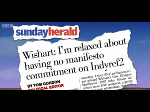 Sunday Herald indyref2 story on BBC Scotland