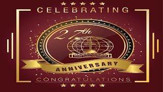 GCI 27th Anniversary  LIVE