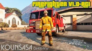GTA 5 Firefighter v1.0 RC1 - Работа в пожарной службе