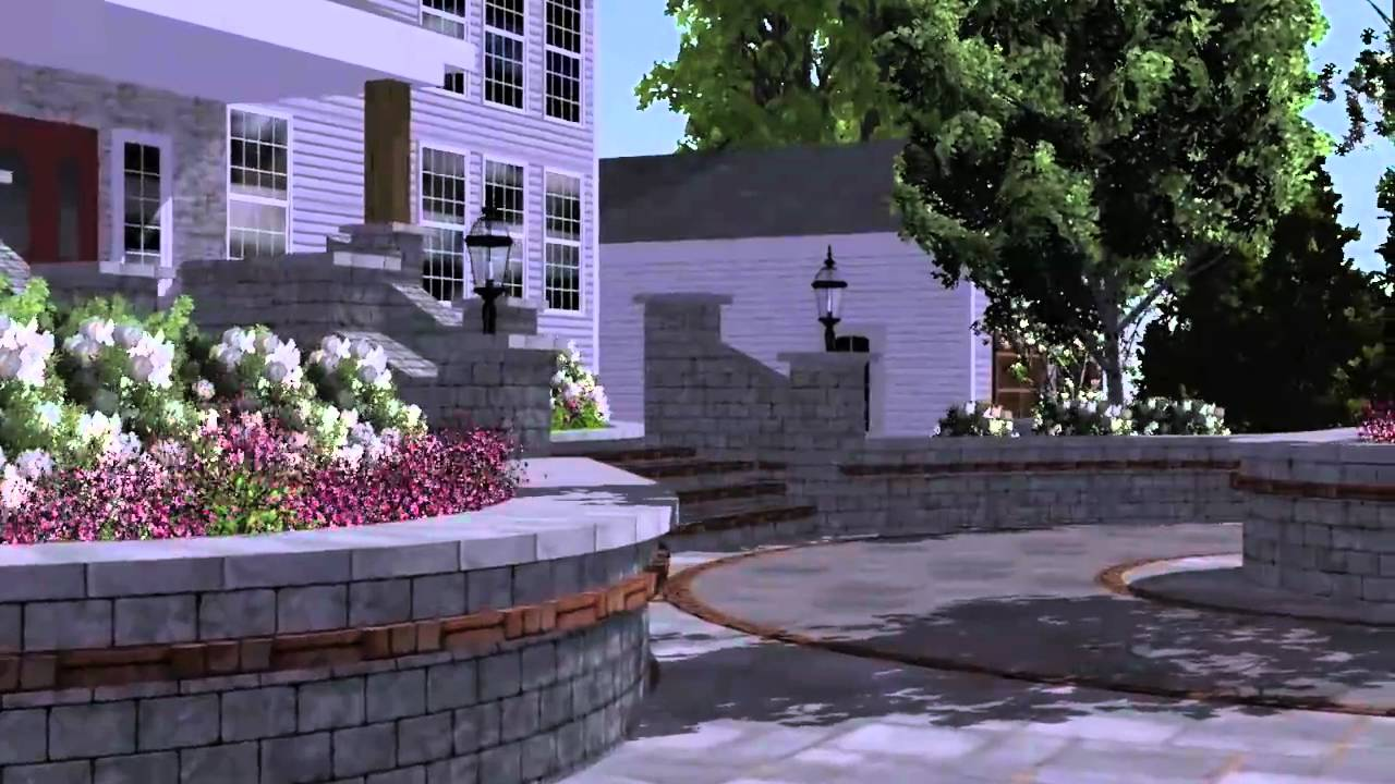 Driveways Gallery also Square Garden Design as well Tiling Stacked Stone To Front Facade in addition Luxury House H stead Modern Home Gym London moreover Our Services. on paving design ideas