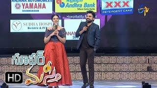 Pradeep, Srimukhi Intro | Super Masti | Bhimavaram | 19th March 2017  | ETV Telugu