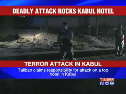 Ten killed as Taliban attack Kabul hotel
