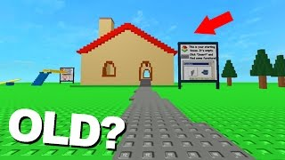 PLAYING THE OLDEST ROBLOX GAME EVER!