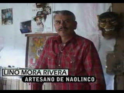 Artesano de Naolinco Lino Mora