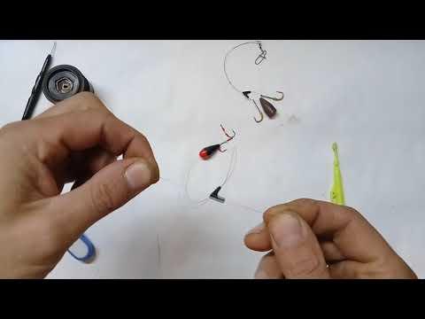 техника ловли рыбы на балду