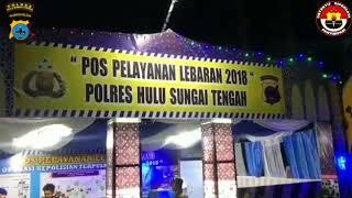 Live Report dari Pos Pelayanan Operasi Ketupat Intan 2018 Polres Hulu Sungai Tengah