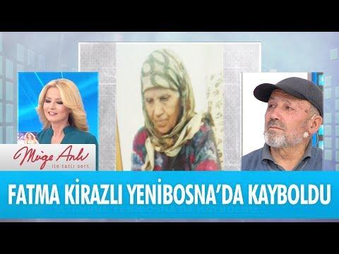 Fatma Kirazlı 22 Aralık günü İstanbul'da kayboldu - Müge Anlı İle Tatlı Sert 26 Aralık