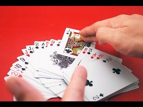 Как показать фокус с угадыванием карты