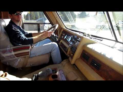 1985 Sun Stream Motor Home Adventure.
