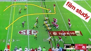 Film Study: Alabama def. Missouri, '18
