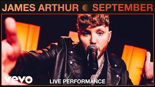 Download James Arthur - September (Live) | Vevo Studio Performance Mp3/Mp4