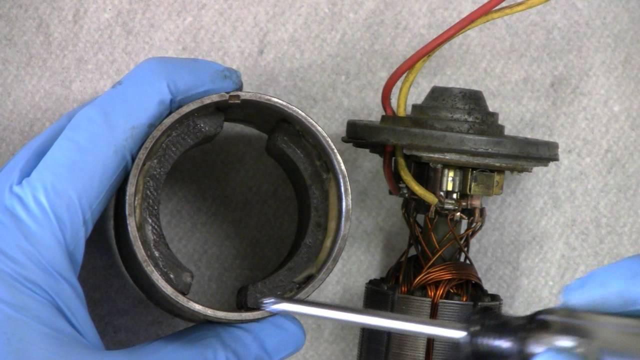 Dc Electric Motor Repair Youtube