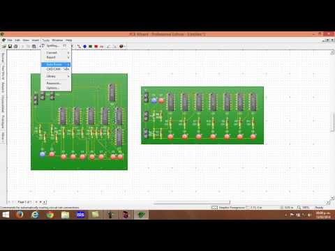 Programas para crear circuitos electrónicos impresos [PCB] [Método Avanzado] [TUTORIAL]