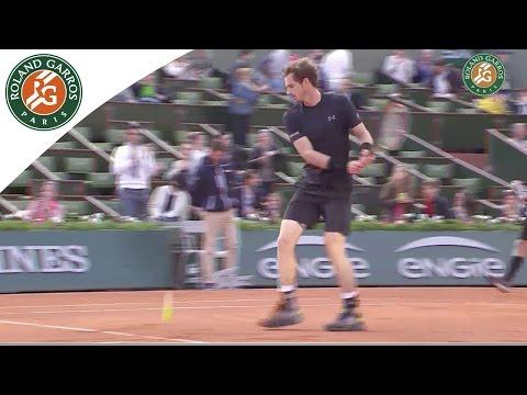 Andy Murray v. Facundo Arguello 2015 French Open Men's R128 Highlights