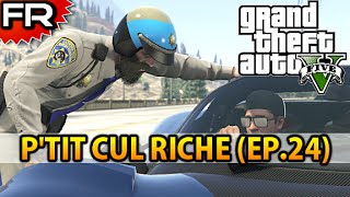 [FR] Grand Theft Auto 5 (PS4) | Let's Play - Gameplay - Walkthrough Francais #24 | P'TIT CUL RICHE