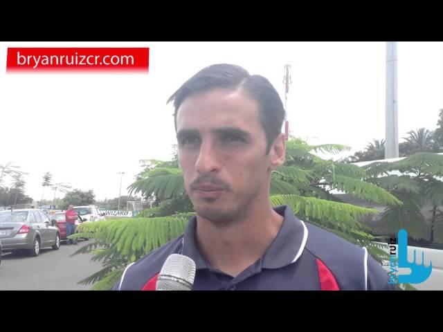 Bryan Ruiz sobre la lesión de Luis Suárez