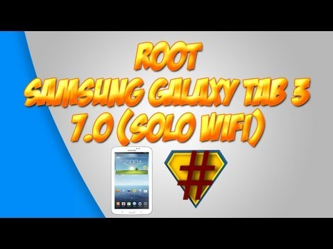 [How to] Como Rootear La Samsung Galaxy Tab 3 7.0 SM-T210 (R) (Solo WiFi) - Español [MX]