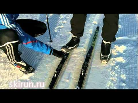 Видео как выбрать прогулочные лыжи