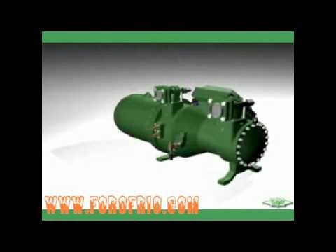 animación compresores bitzer & www.forofrio.com