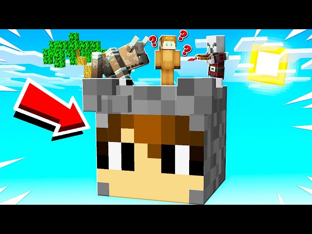 SURVIVING ON A GIANT SLOGOMAN IN MINECRAFT!
