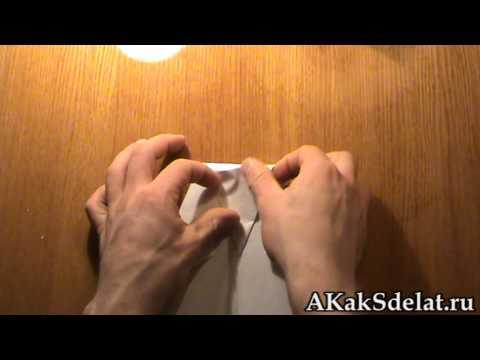 Как сделать из бумаги пингвина