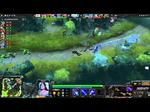DK vs For.love.cn, Sina Cup Supernova Dota 2 Open Season 2, Day 4, game 1