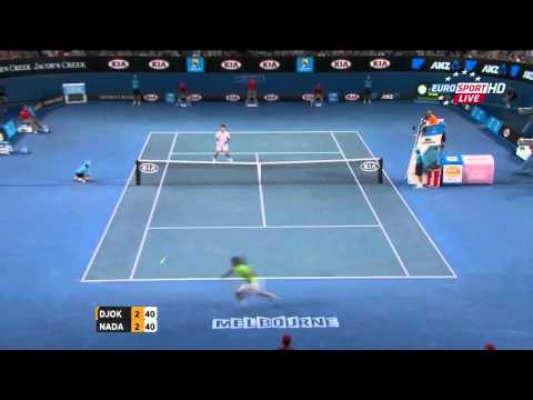 Rafael Nadal Vs Novak Djokovic Best Points [HD] (Part 2)