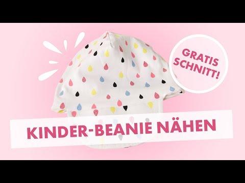 DIY Beanie Mütze Nähen Für Anfänger + Schnittmuster WENDEBEANIE Von ...