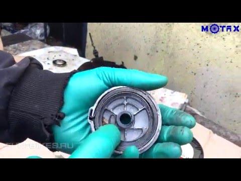 Замена веревки в стартере на двухтактной детской мототехнике MOTAX