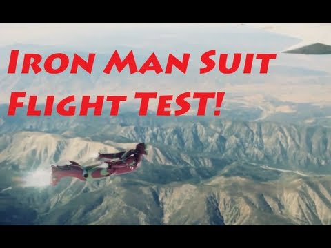 Real Life IronMan Suit Flight Test