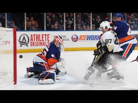 Sidney Crosby splits the D and nets incredible OT winner