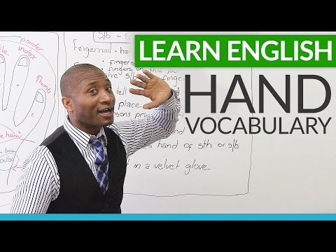 Learn English - Vocabulary And Expressions About Hands video
