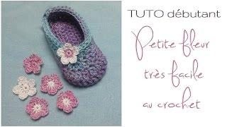 TUTO débutant : Petite fleur au crochet très facile à réaliser