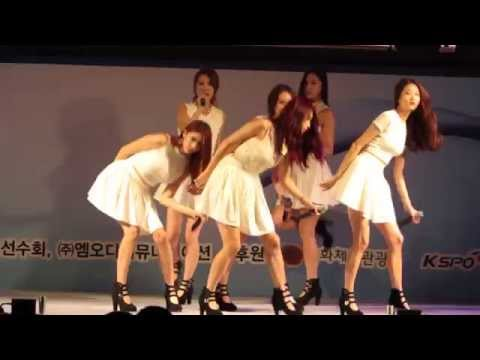 Glue - Nine Muses (나인뮤지스) Live  Cheering Up Concert For Korean National Team video