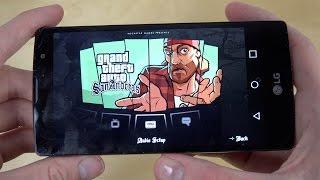 GTA San Andreas LG G4c Gameplay Performance Test!