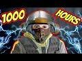 What 1000 HOURS of BANDIT Experience Looks Like - Rainbow Six Siege
