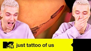 Lauv Reacts To Just Tattoo Of Us' Most Shocking Tattoos | Just Tattoo Of Us