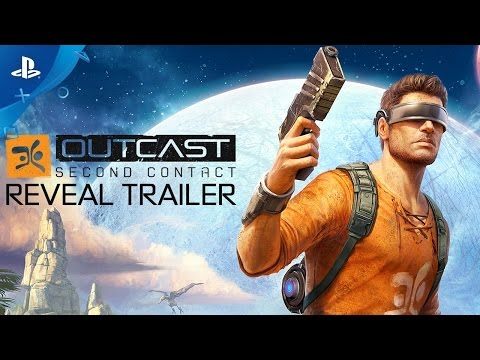 Outcast - Second Contact - Reveal Trailer | PS4