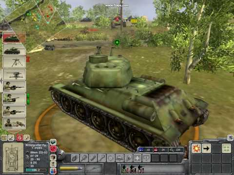 Men of War T34 vs Panther