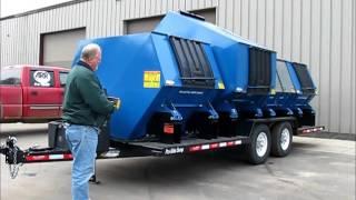 Pro-Side Dump Recycling Trailer