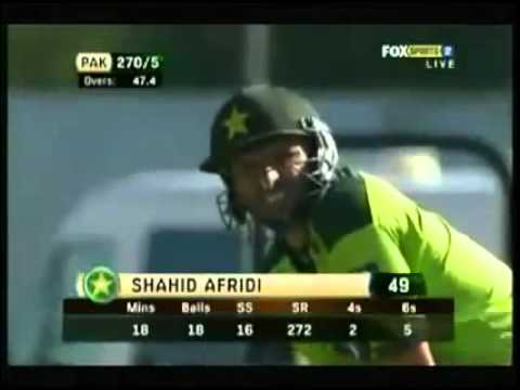 Sarfaraz Ahmed De Ghuma Ke Shahid Afridi Pakistan Video.flv video