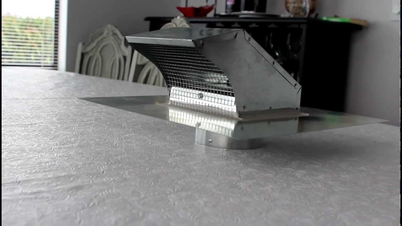 Metal roof vent with damper and screen for pitched roof by for 6 bathroom roof vent