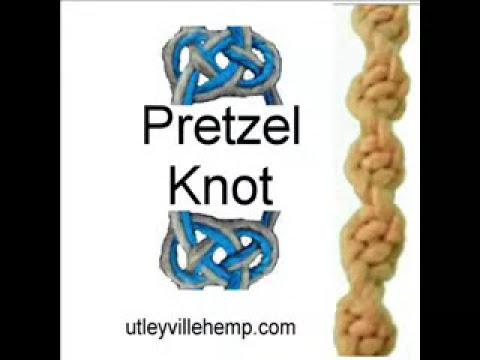 How to Tie a Pretzel Knot aka Carrick Bend for Hemp Jewelry