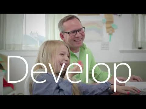 Microsoft Office 2013 New Ad - minimalistic