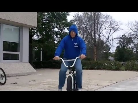 Coolest Principal Ever Does BMX Tricks To Fight Tardiness.