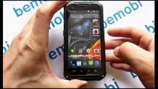 Видео обзор защищенного телефона Land Rover A9+ MTK 6592 (тест в воде)