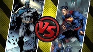 Versus: Batman v Superman ¿Quién gana?